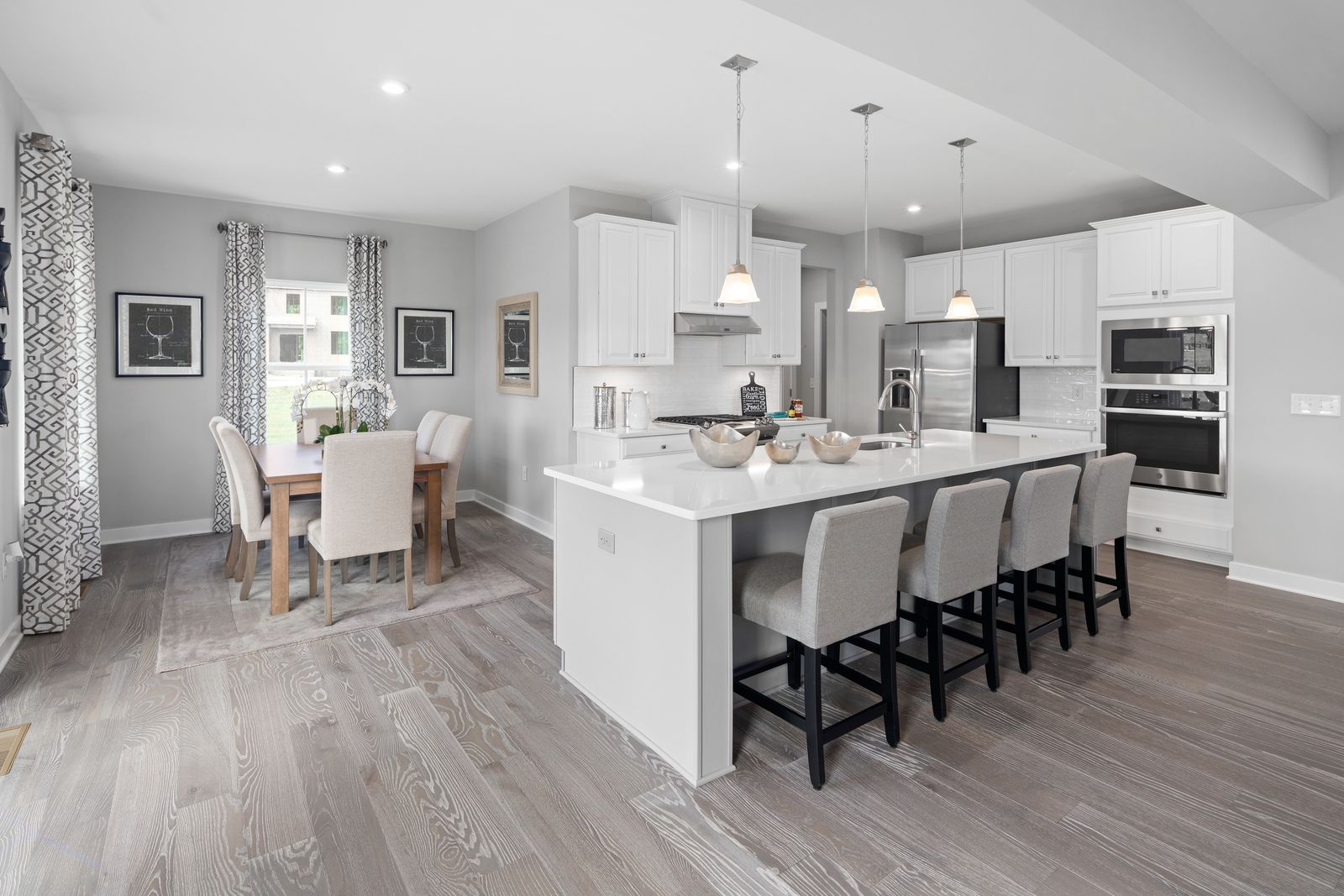 Kitchen featured in the Columbia By Ryan Homes in Chicago, IL