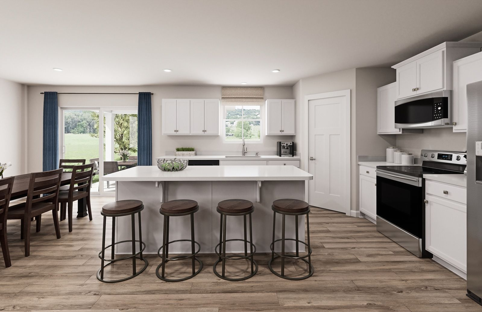 Kitchen featured in the Eden Cay By Ryan Homes in Charlotte, NC