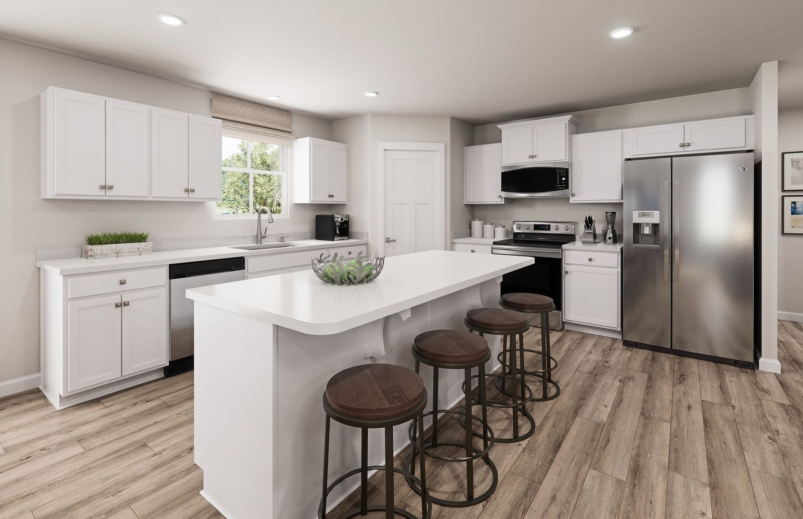 Kitchen featured in the Eden Cay By Ryan Homes in Akron, OH