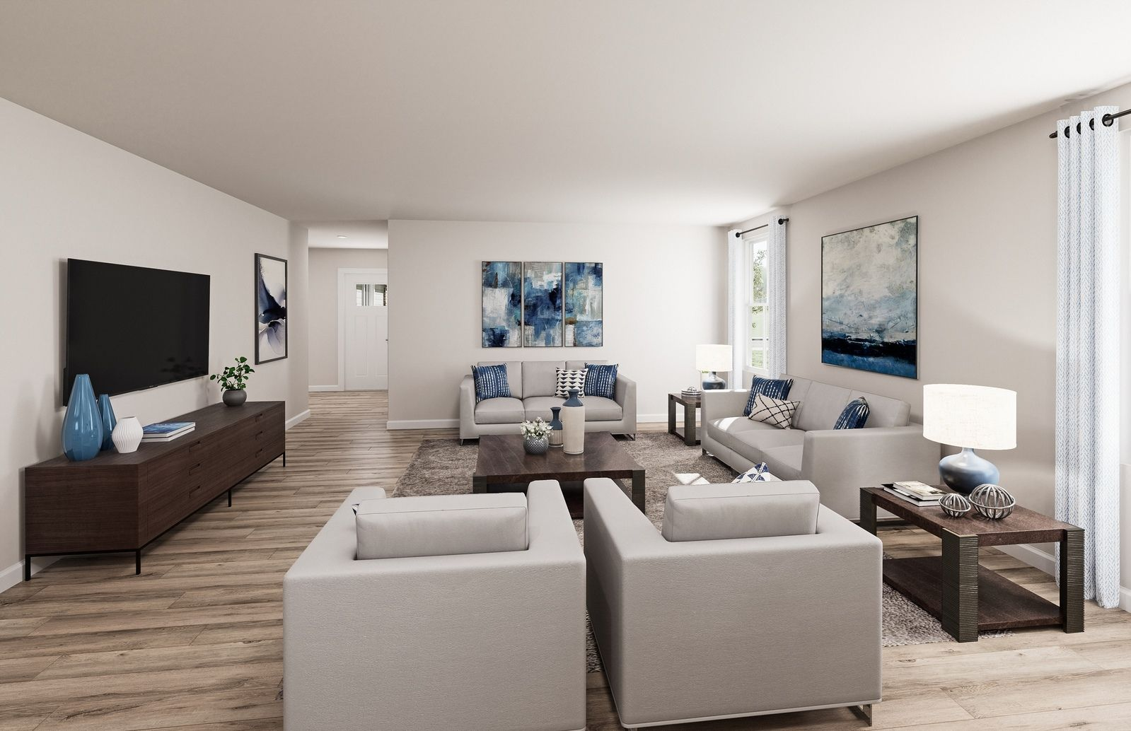 Living Area featured in the Eden Cay By Ryan Homes in Dover, DE