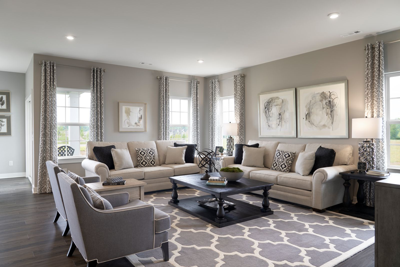 Living Area featured in the Mitchell By Ryan Homes in Norfolk-Newport News, VA