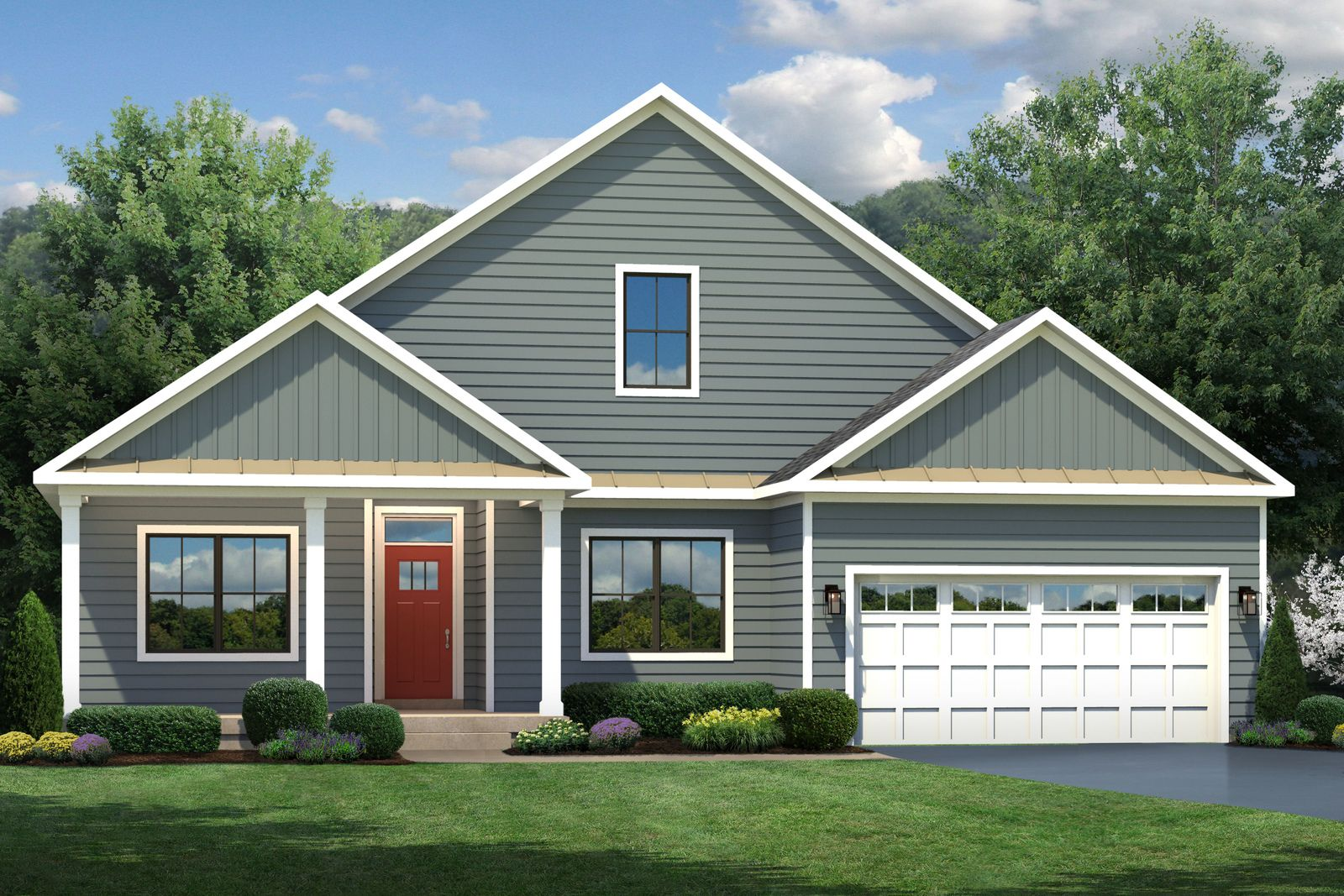 Exterior featured in the Ashbrooke By Ryan Homes in Washington, MD