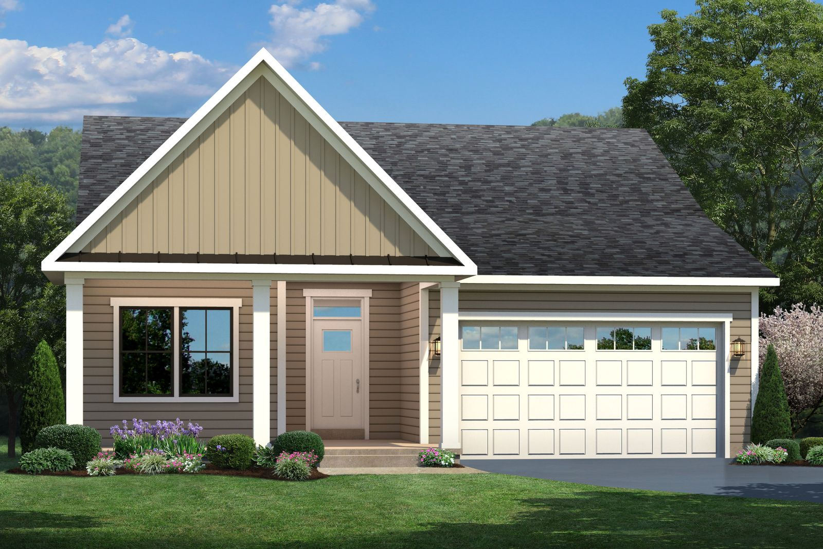 Exterior featured in the Bramante Ranch By Ryan Homes in Greenville-Spartanburg, SC