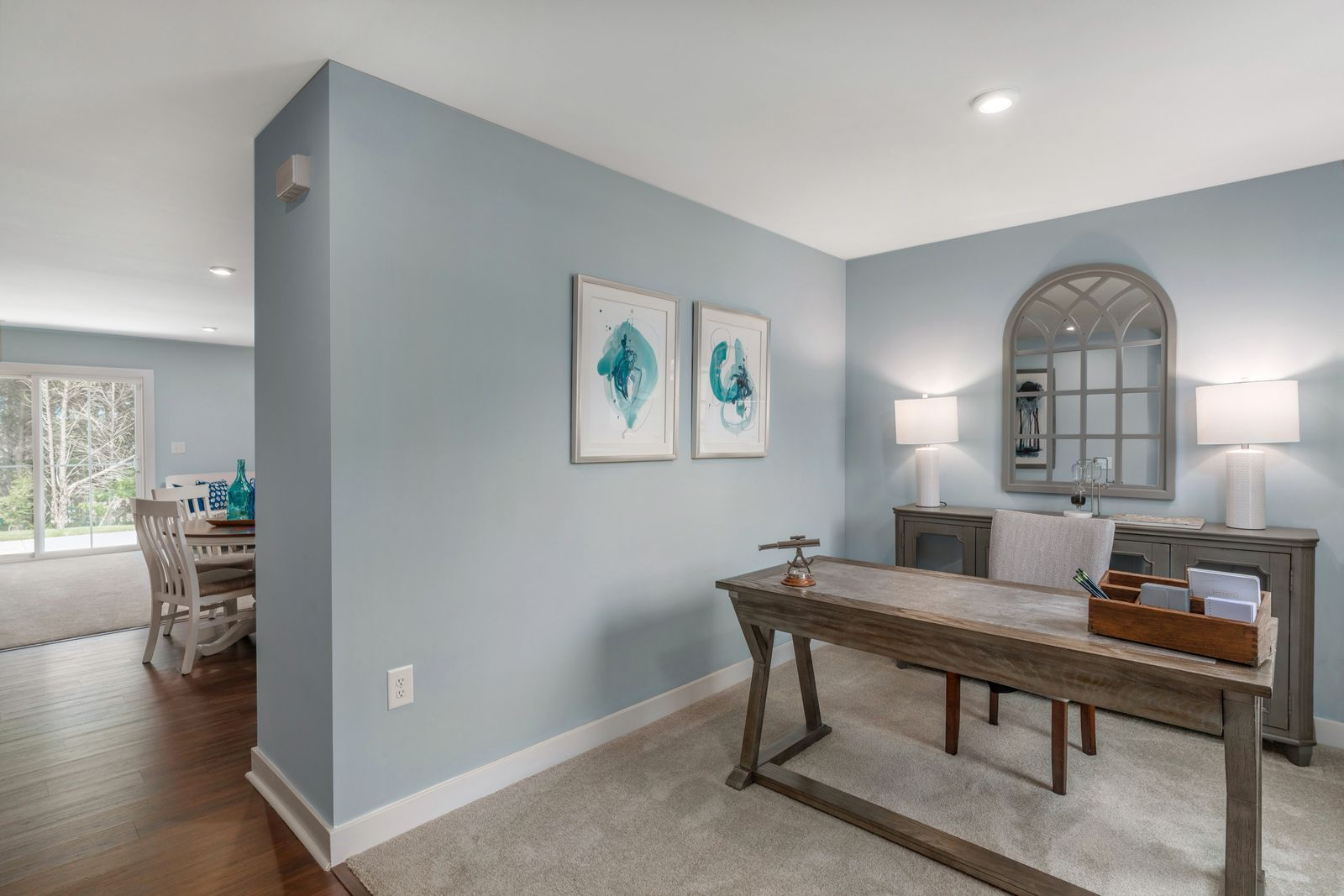 Living Area featured in the Aruba Bay By Ryan Homes in Dover, DE