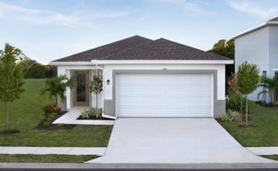 Avalon Crossing Single Family Homes by Ryan Homes in Martin-St. Lucie-Okeechobee Counties Florida