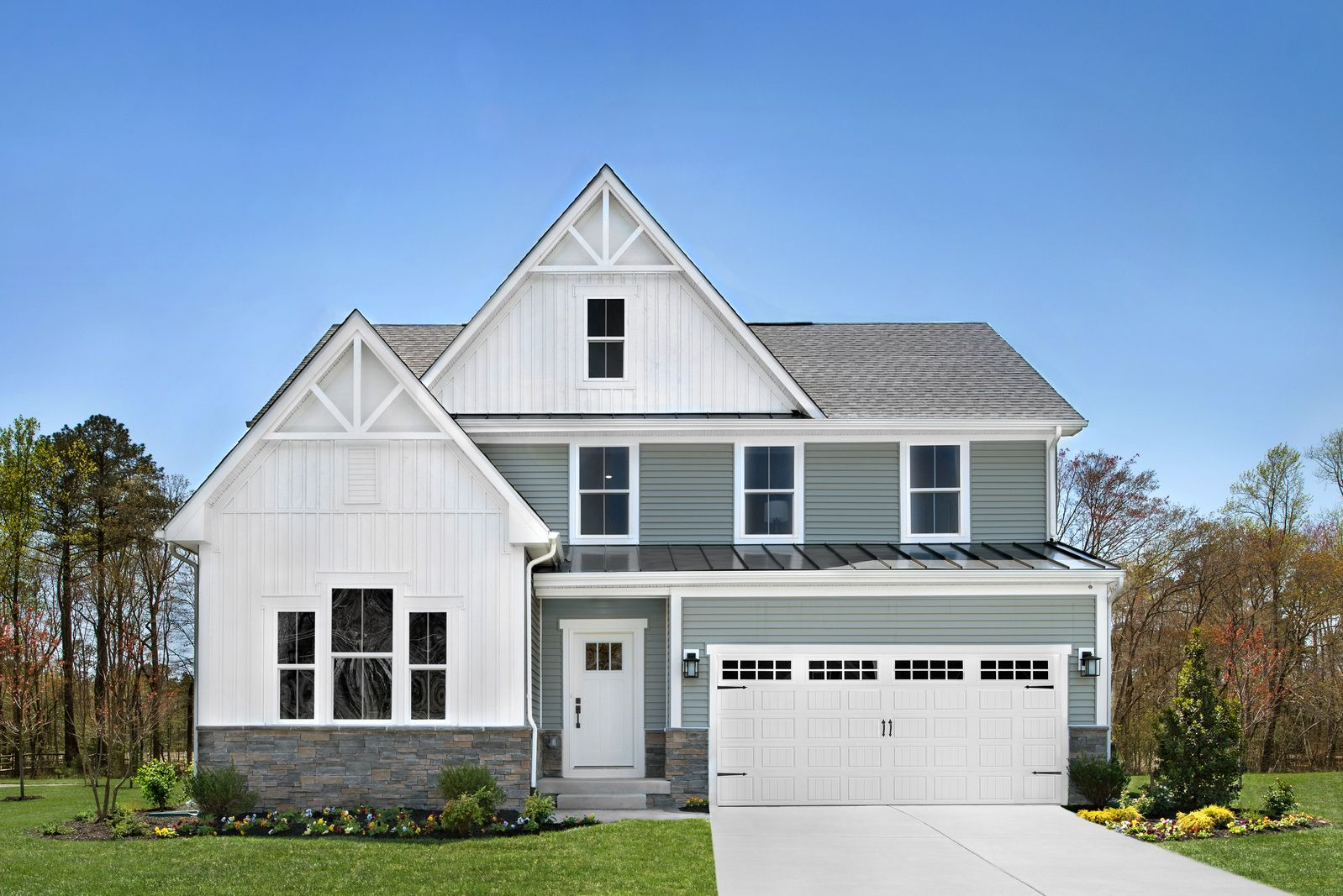 Exterior featured in the Stapleton By HeartlandHomes in Pittsburgh, PA