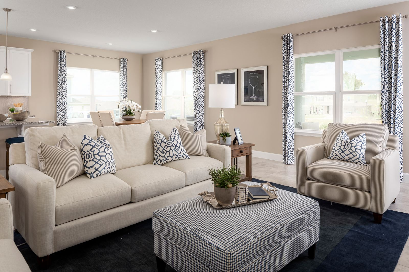 Living Area featured in the Lynn Haven By Ryan Homes in Tampa-St. Petersburg, FL