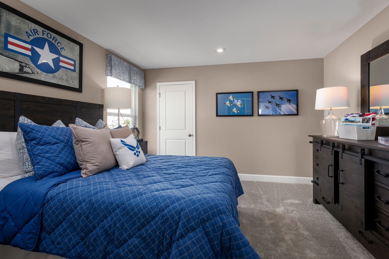 Bedroom featured in the Lynn Haven By Ryan Homes in Tampa-St. Petersburg, FL