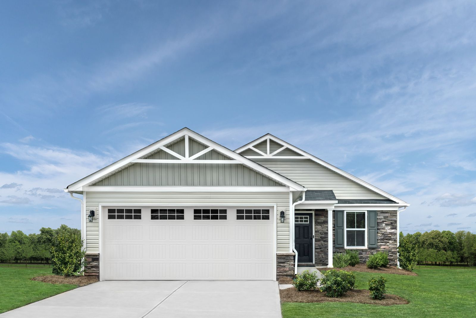 Exterior featured in the Aruba Bay By Ryan Homes in Greenville-Spartanburg, SC