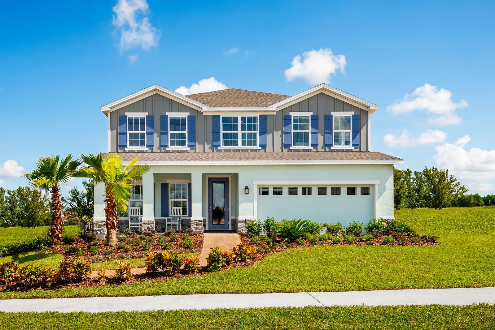 'Overlook at Grassy Lake' by Ryan Homes-ORL in Orlando