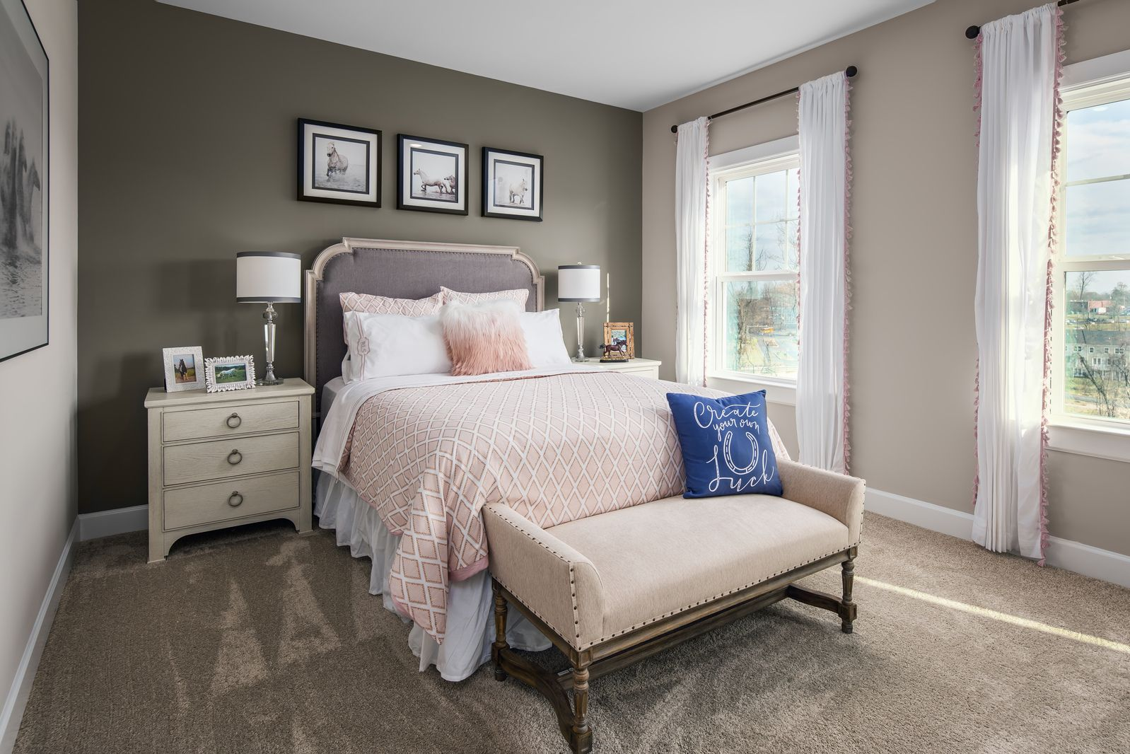 Bedroom featured in the Haverford Duplex By HeartlandHomes in Pittsburgh, PA