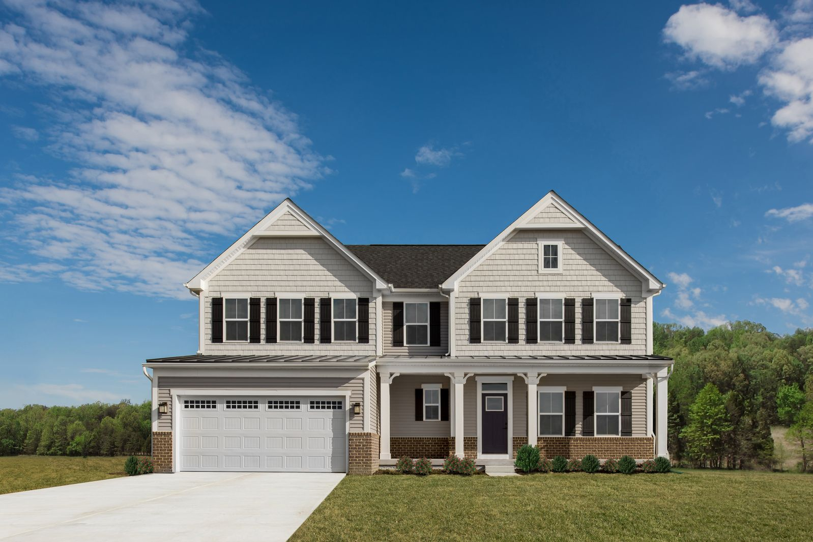 Exterior featured in the Roanoke By Ryan Homes in Nashville, TN