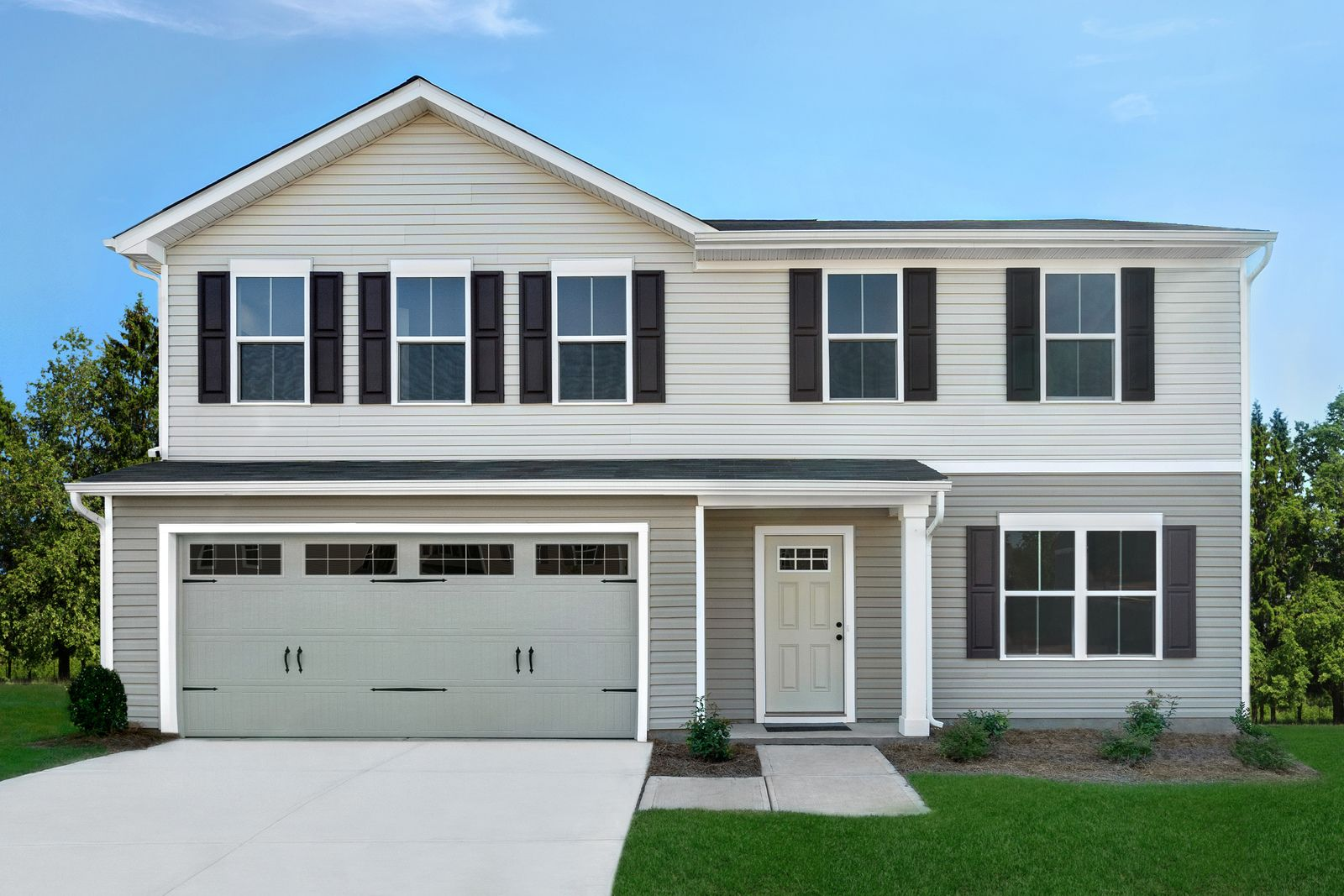 Exterior featured in the Cedar By Ryan Homes in Columbia, SC