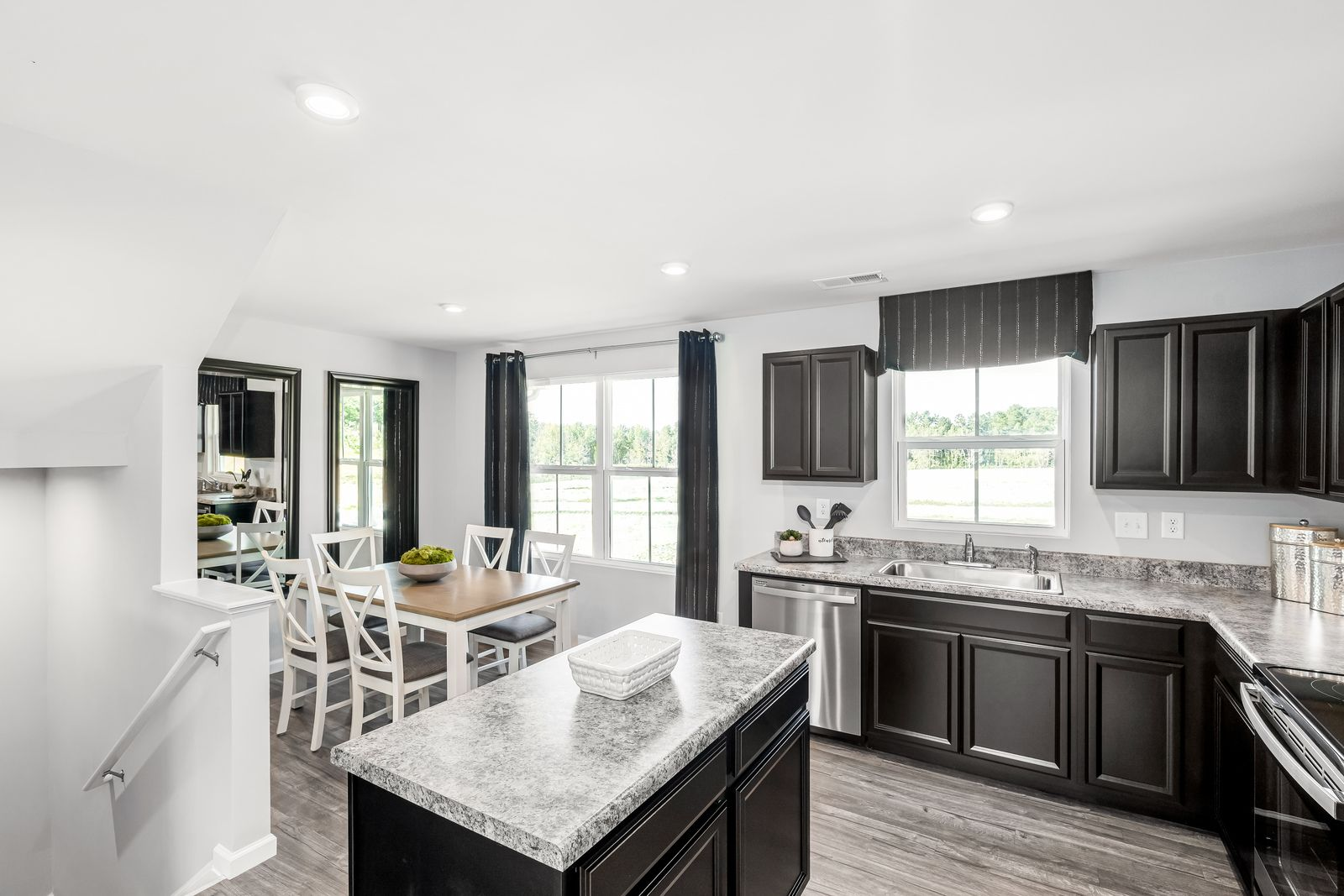 Kitchen featured in the Juniper By Ryan Homes in Greenville-Spartanburg, SC