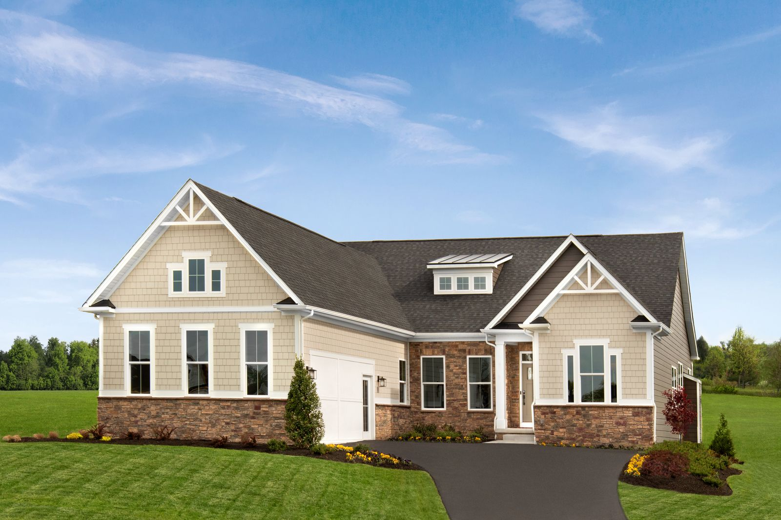Exterior featured in the Springmanor Grande By HeartlandHomes in Pittsburgh, PA