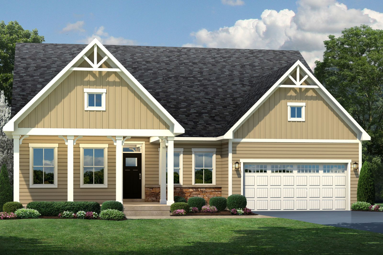 Exterior featured in the Savannah By Ryan Homes in Washington, MD