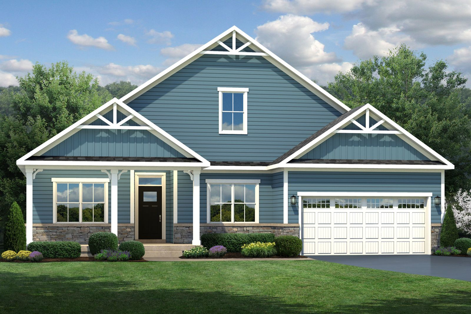 Exterior featured in the Ashbrooke By Ryan Homes in Norfolk-Newport News, VA
