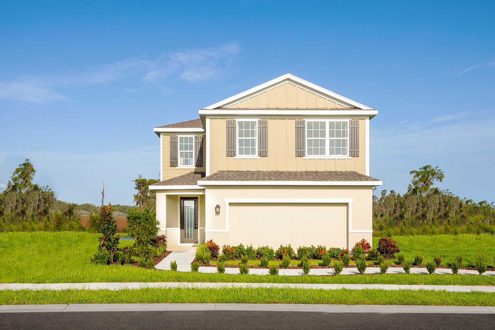Exterior featured in the Hillcrest By Ryan Homes in Tampa-St. Petersburg, FL