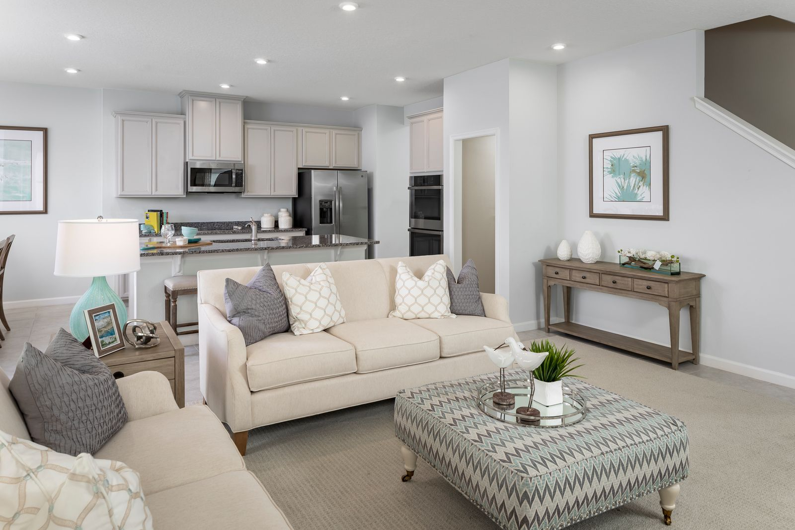 Living Area featured in the Hillcrest By Ryan Homes in Orlando, FL