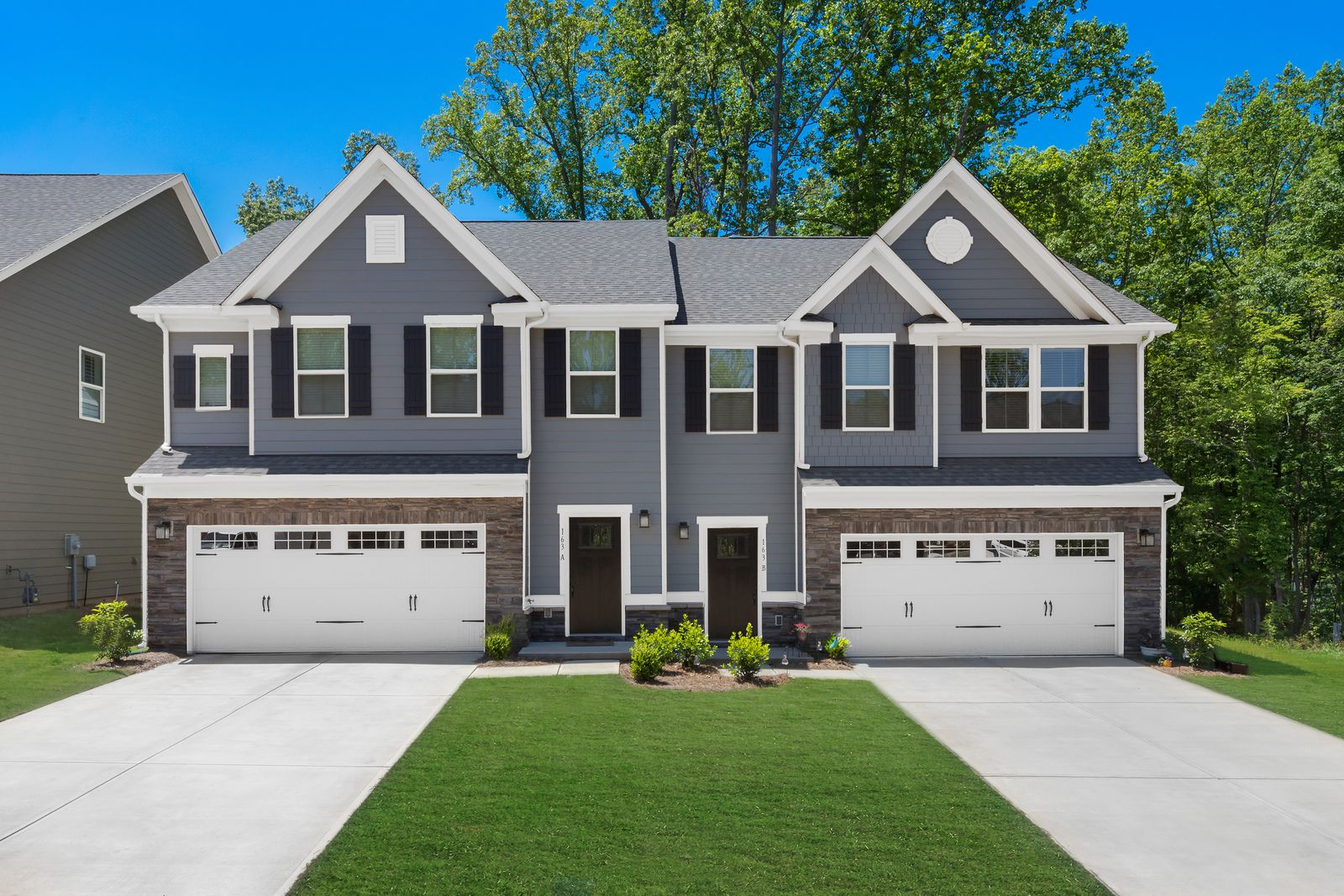 Exterior featured in the Rosecliff w/Basement By Ryan Homes in Canton-Massillon, OH