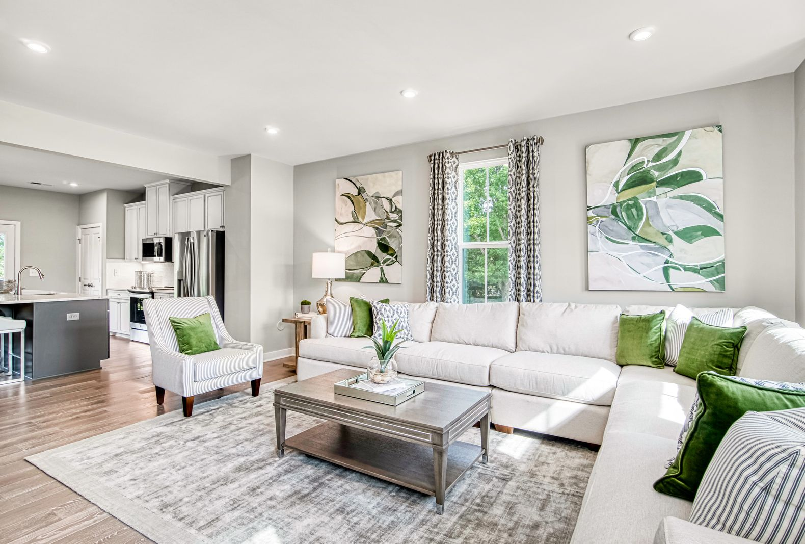 Living Area featured in the Mozart By Ryan Homes in Greenville-Spartanburg, SC