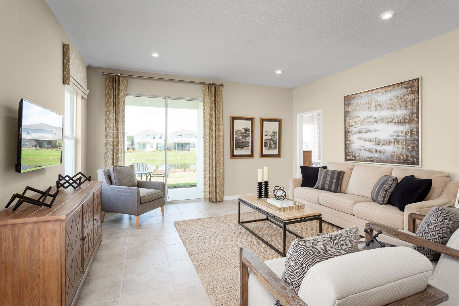 Living Area featured in the Century By Ryan Homes in Orlando, FL