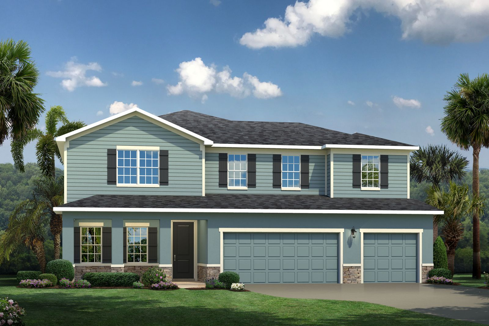 Exterior featured in the Oakton By Ryan Homes in Indian River County, FL