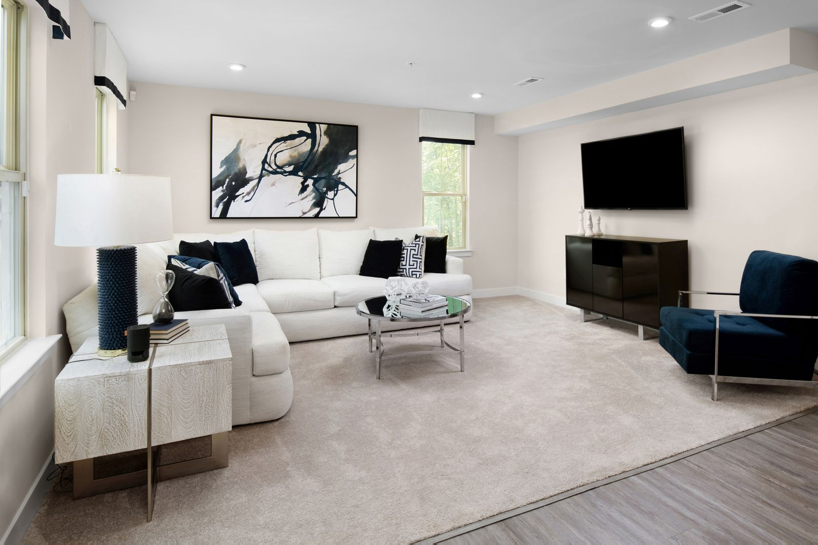 Living Area featured in the Serenade By HeartlandHomes in Pittsburgh, PA
