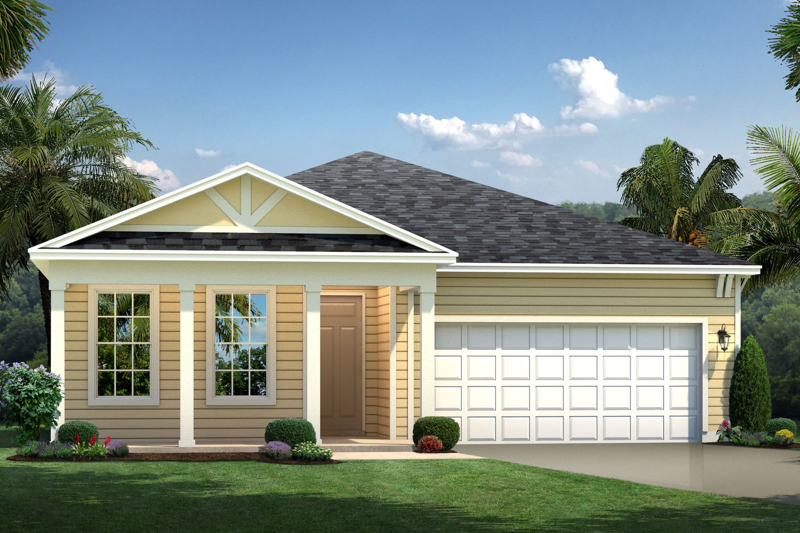 Exterior featured in the Sabal By Ryan Homes in Martin-St. Lucie-Okeechobee Counties, FL