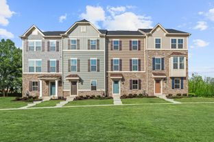 Strauss Attic Rear Garage - Lake Linganore Oakdale Townhomes: New Market, Maryland - Ryan Homes