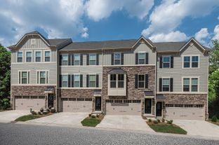 Schubert Front - Market Point Townes: Greenville, South Carolina - Ryan Homes