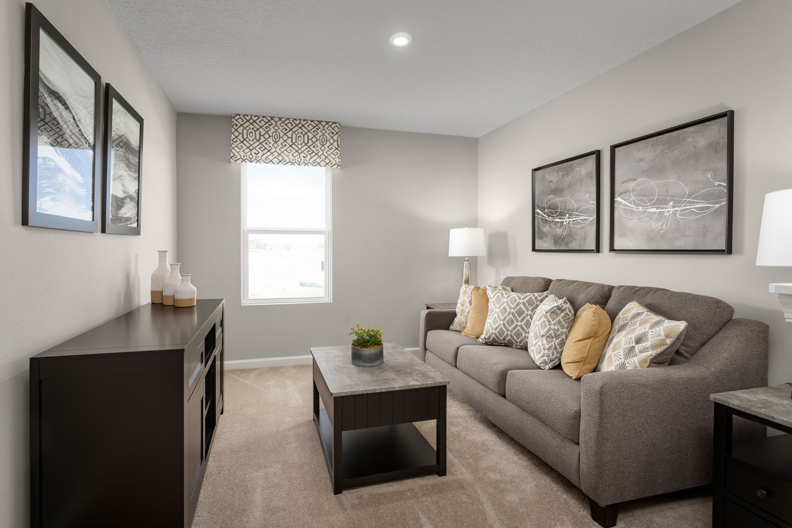 Living Area featured in the Willow By Ryan Homes in Lakeland-Winter Haven, FL