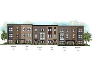 Mendelssohn 2-Car Garage - Maple Street Rowhomes: Mt Prospect, Illinois - Ryan Homes