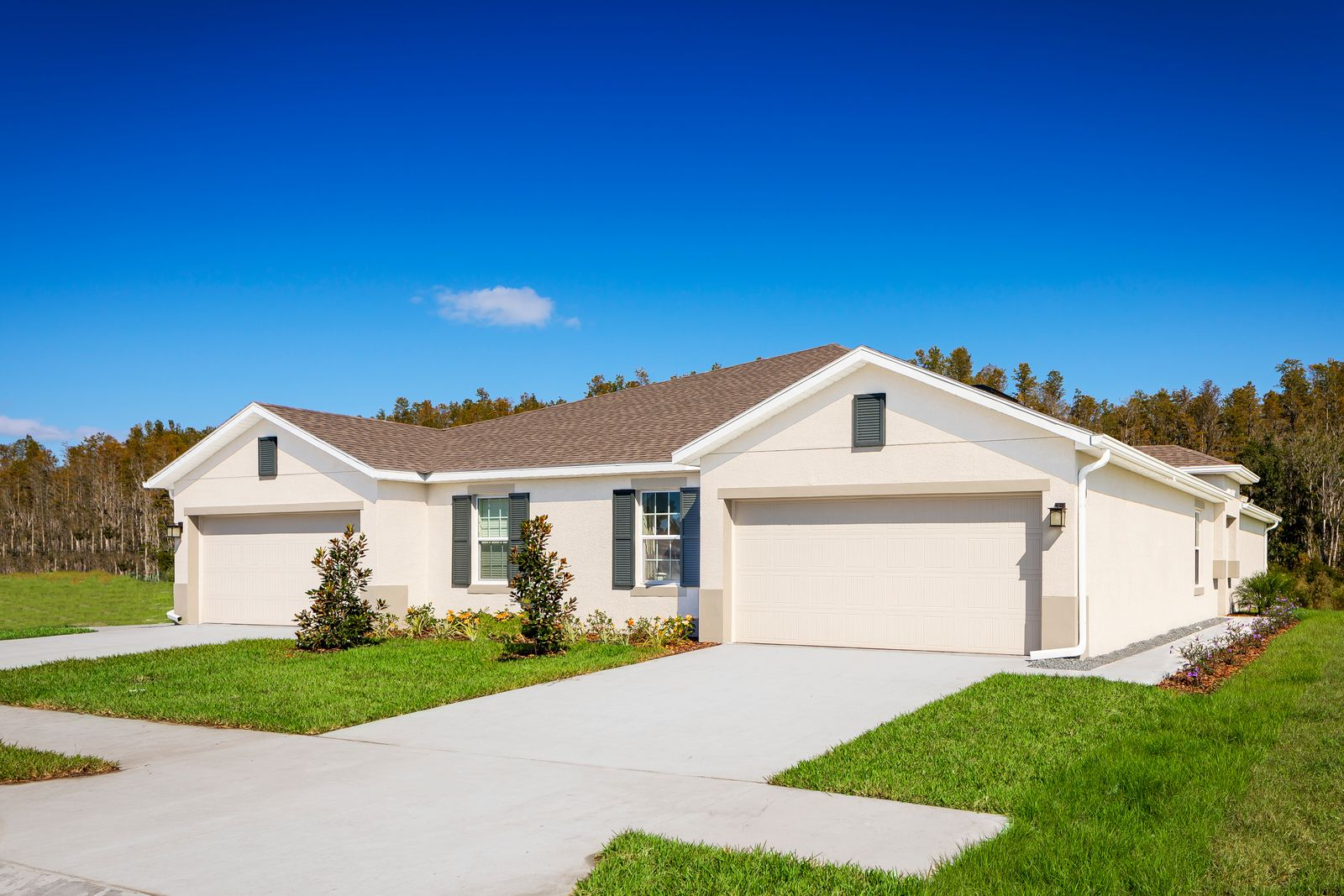 Exterior featured in the Magnolia-Woodland By Ryan Homes in Tampa-St. Petersburg, FL