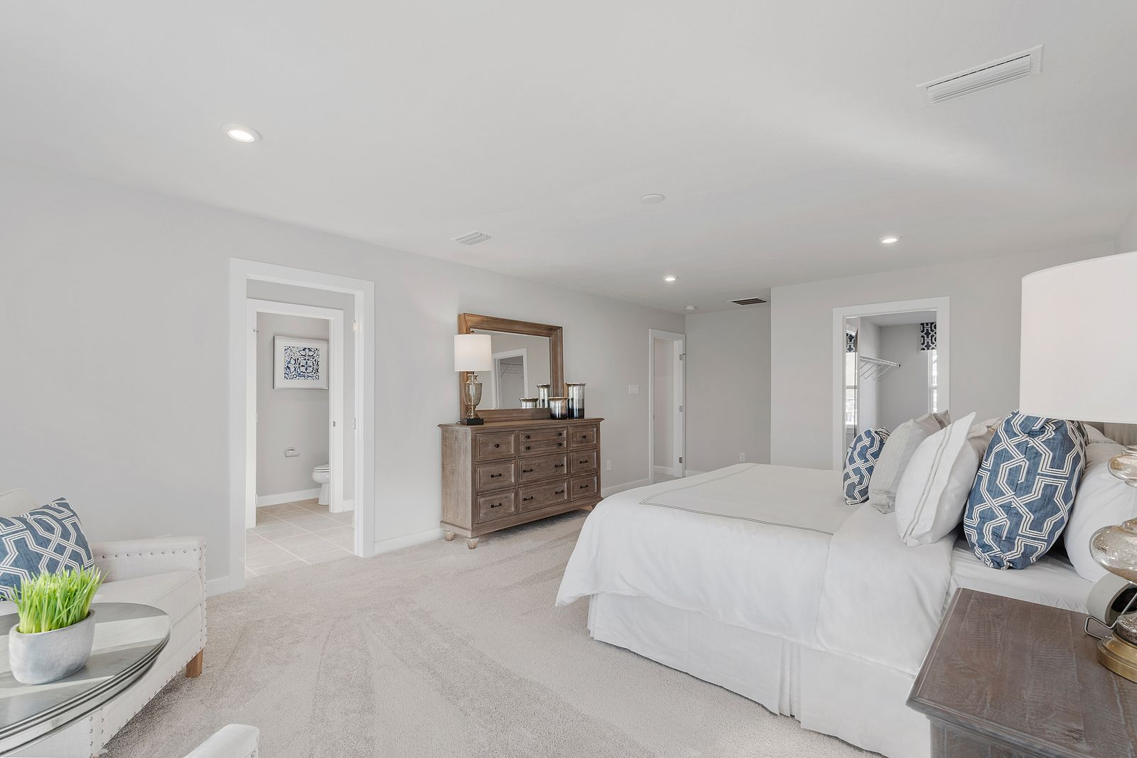 Bedroom featured in the Columbia w/ Optional Finished Basement By Ryan Homes in Chicago, IL
