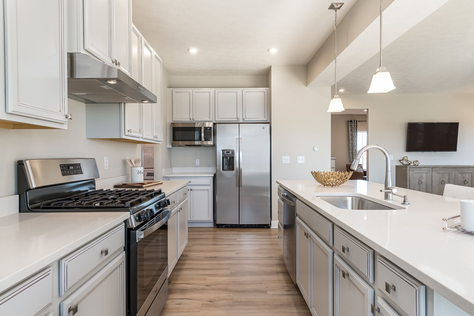 Kitchen featured in the Hudson By Ryan Homes in Chicago, IL