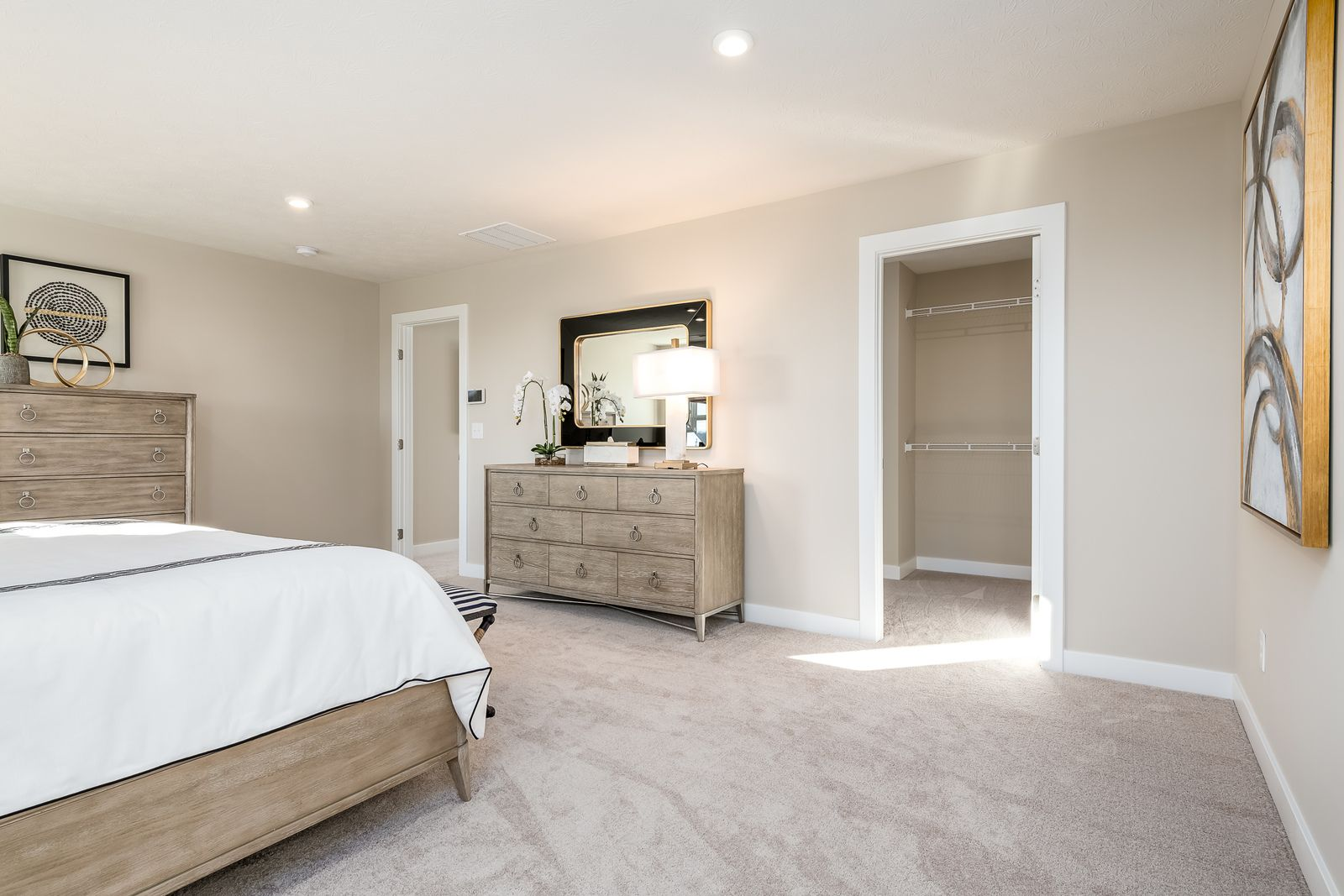 Bedroom featured in the Hudson By Ryan Homes in Canton-Massillon, OH