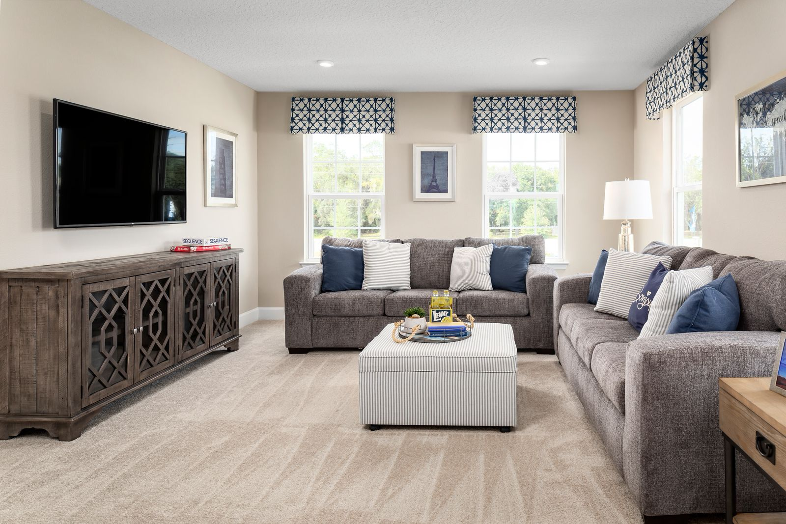 Living Area featured in the Lynn Haven By Ryan Homes in Orlando, FL