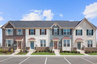 Beethoven - Lake Linganore Hamptons Townhomes: New Market, Maryland - Ryan Homes