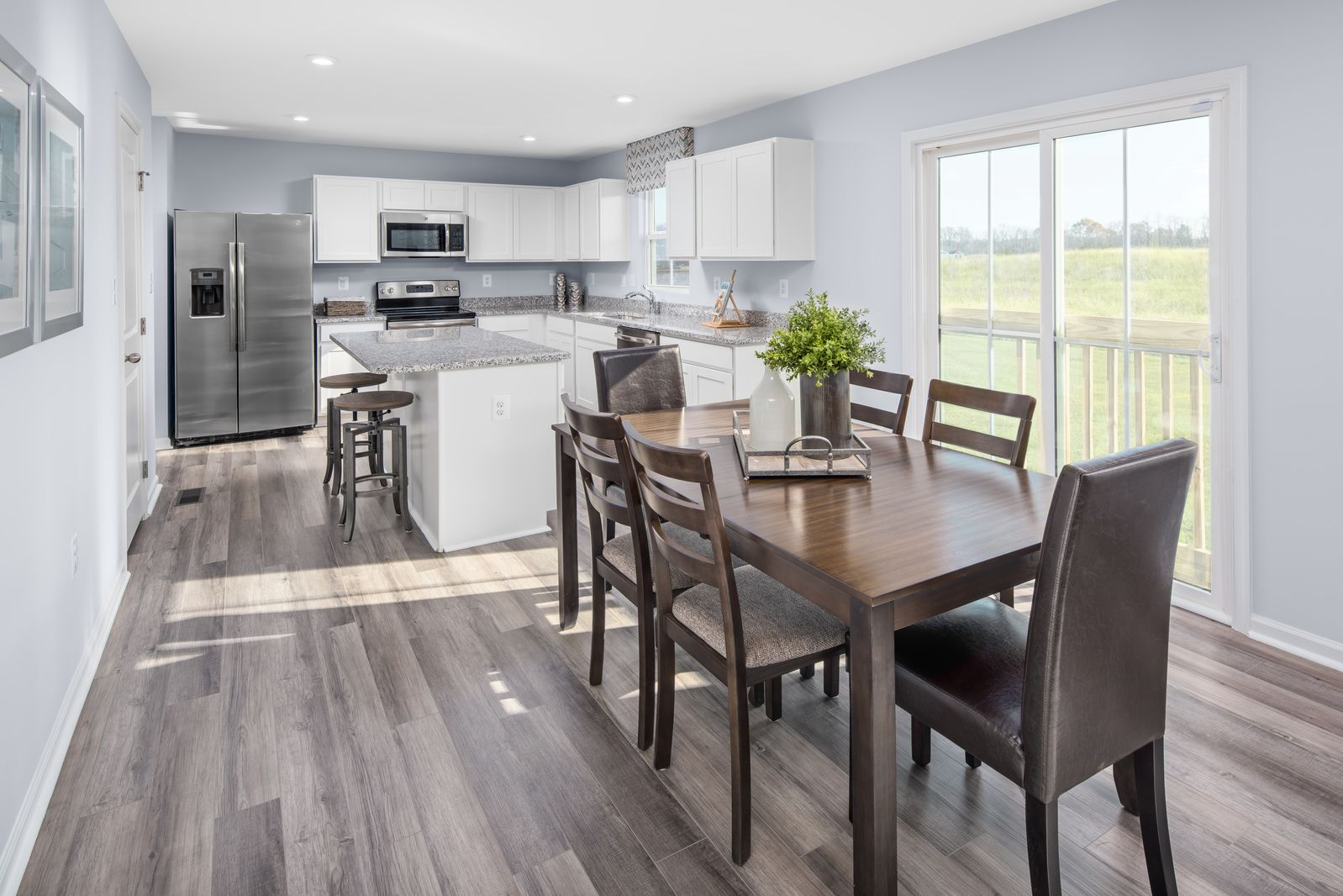 Kitchen featured in the Elm By Ryan Homes in Akron, OH
