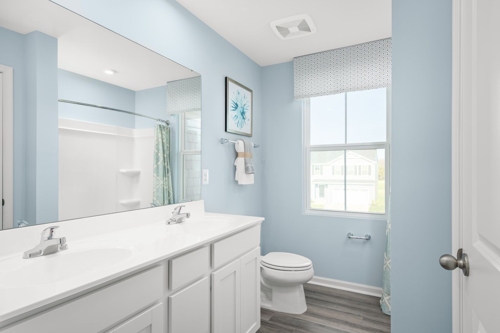 Bathroom featured in the Elm By Ryan Homes in Akron, OH