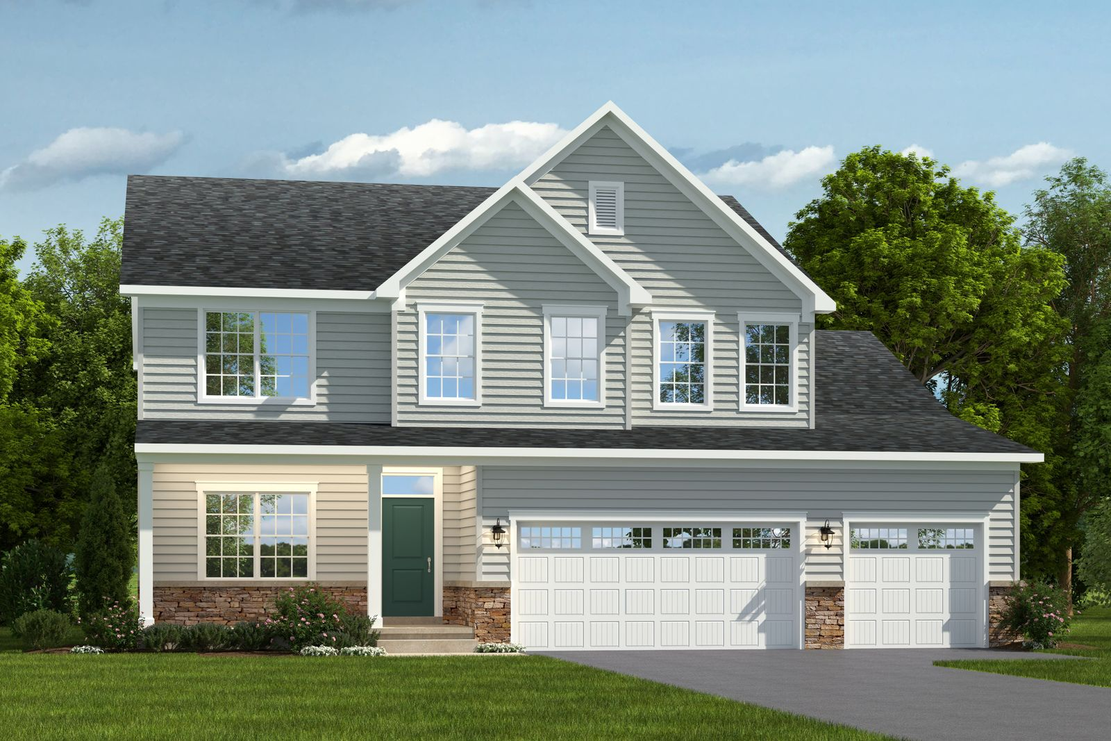 Exterior featured in the Lakeland By Ryan Homes in Norfolk-Newport News, VA