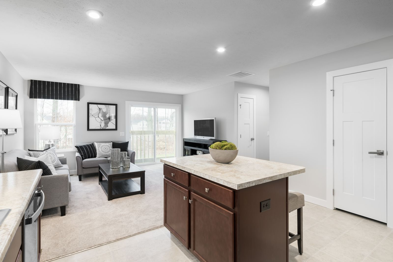 Kitchen featured in the Aruba Bay By Ryan Homes in Dover, DE
