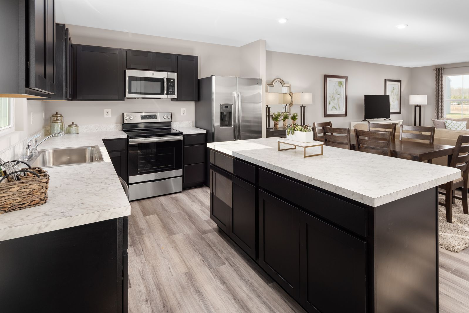 Kitchen featured in the Birch By Ryan Homes in Canton-Massillon, OH