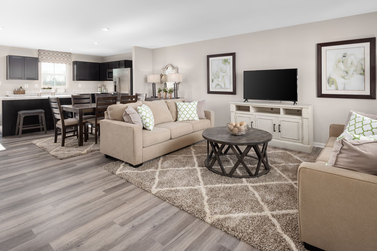 Living Area featured in the Birch By Ryan Homes in Akron, OH