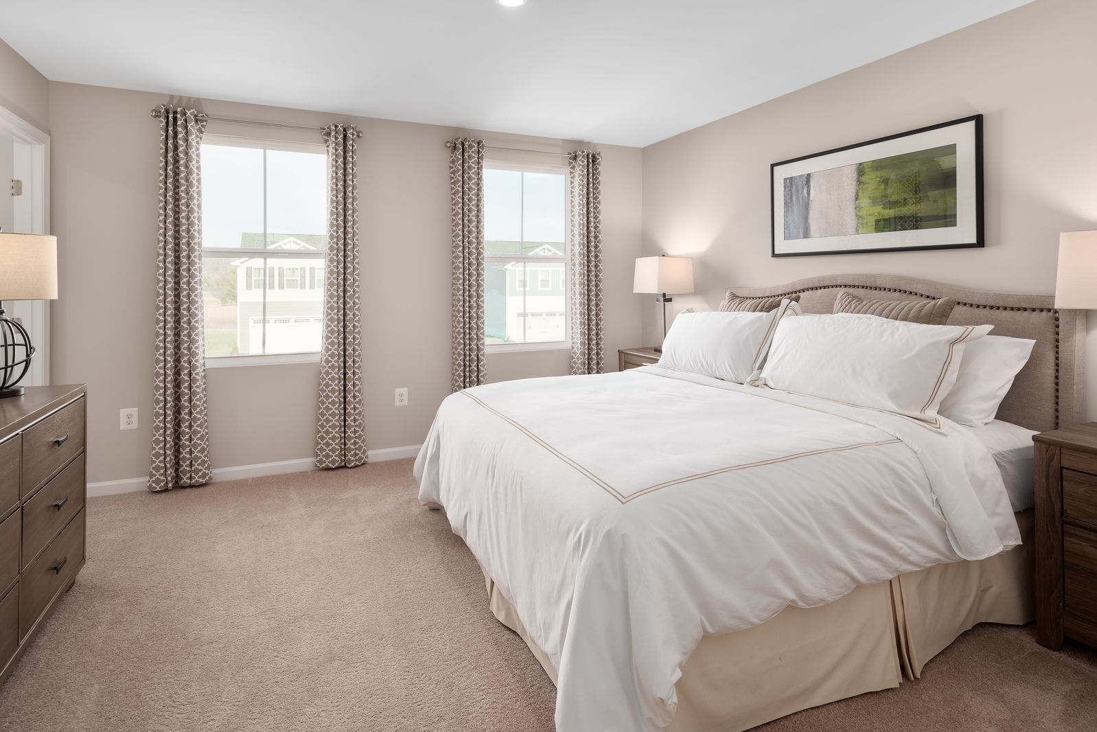Bedroom featured in the Birch By Ryan Homes in Akron, OH