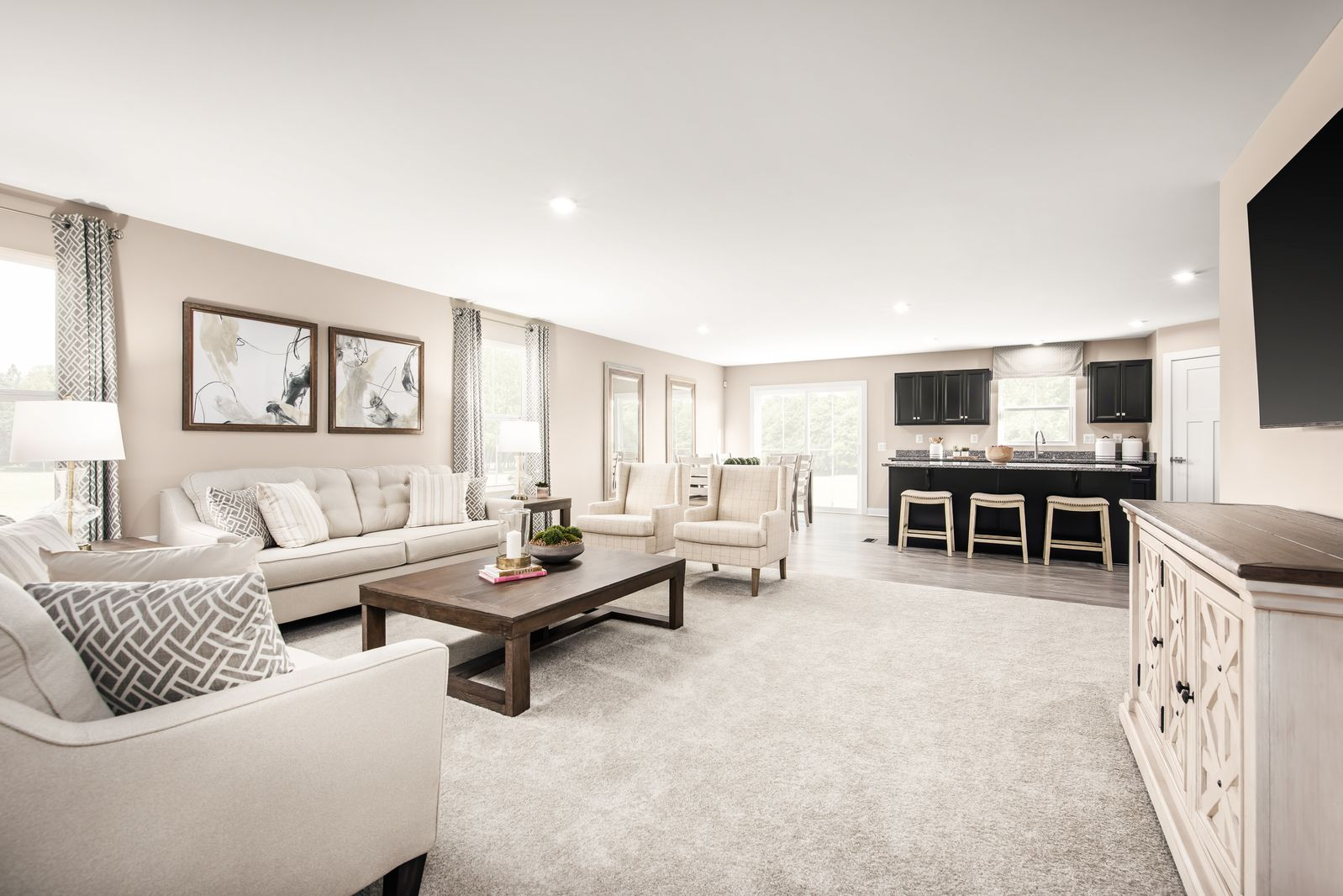 Living Area featured in the Eden Cay By Ryan Homes in Charlotte, NC