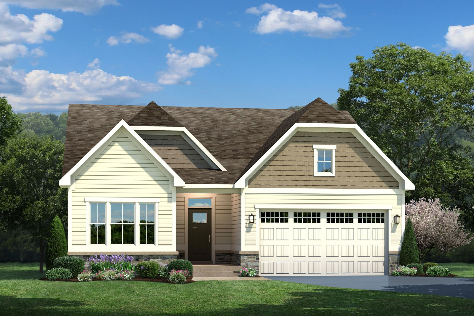 Exterior featured in the Bramante Ranch By Ryan Homes in Dover, DE
