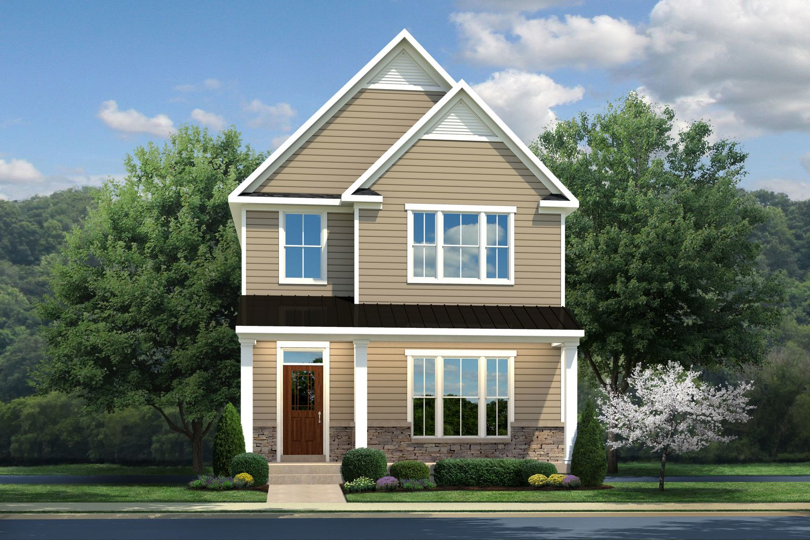 Exterior featured in the Alcott By Ryan Homes in Norfolk-Newport News, VA
