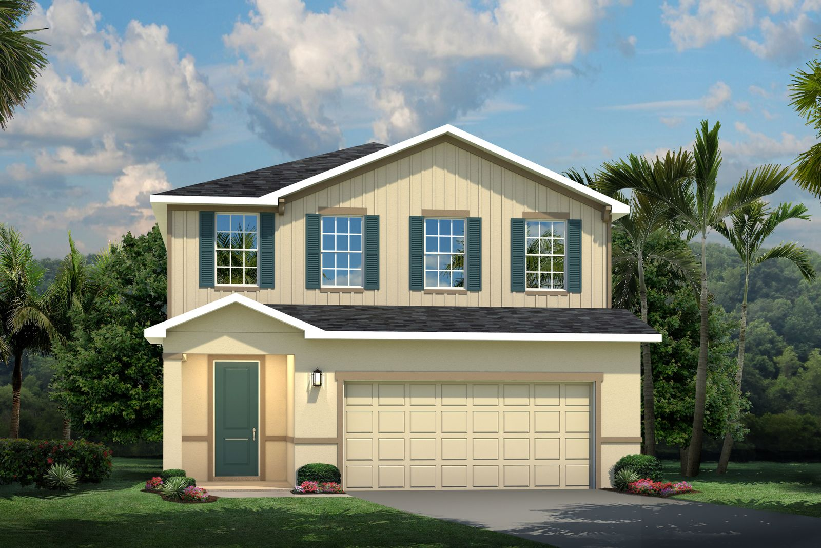 Exterior featured in the Windermere By Ryan Homes in Tampa-St. Petersburg, FL